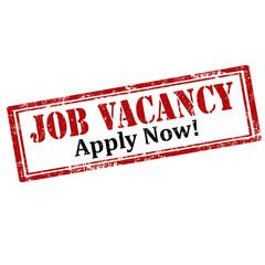 Job Vacancy-stamp