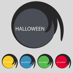 Halloween sign icon. Halloween-party symbol