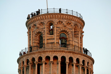 Toscana,Pisa, la Torre pendente di Pisa.