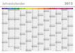 Kalender 2015 Jahresplaner Jahreskalender