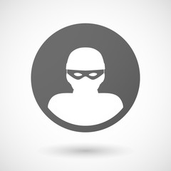 thief  icon on white background