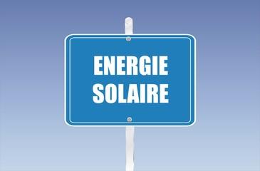 panneau énergie solaire