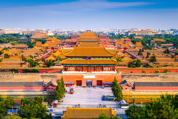 Forbidden City of Beijing, China