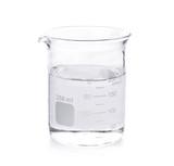 Beaker on white background - 76367575