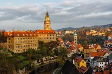 View on Cesky Krumlov