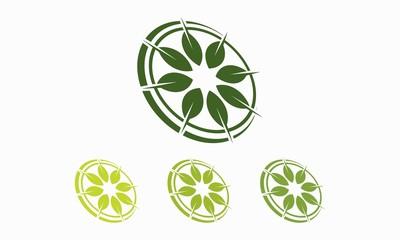 Leaf Compass Logo v.2