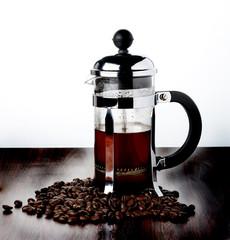 coffee french press pot