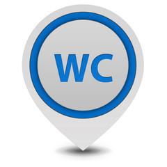 WC pointer icon on white background