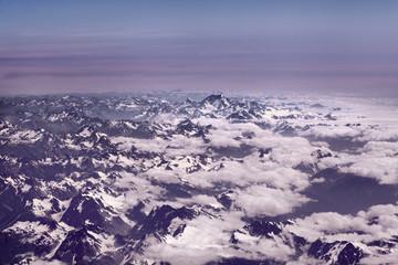 Neuseelands Alpenkette