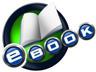 E-Book - Round Icon