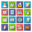 Seo Internet Marketing Flat Icon - 76369965