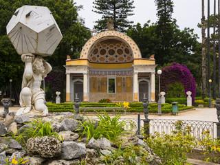 Park Villa Giulia mit Botanischem Garten, Palermo, Sizilien