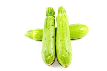 Frische Zucchini mit