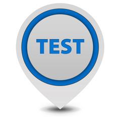 Test  pointer icon on white background
