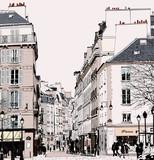 Paris - Street in Saint Germain