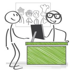 Berufsberatung, Jobmesse, Arbeitsagentur