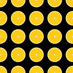 Orange slices background.