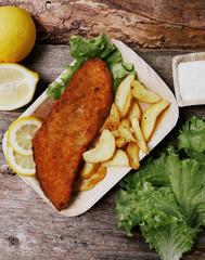 Delicious fish fillet