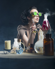 alchemist girl