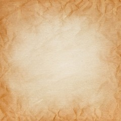 brown canvas with the texture of crumpled paper