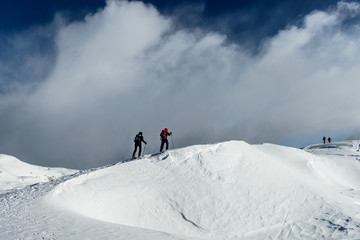 Trentino, Escursione invernale 2