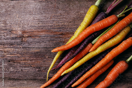 canvas print picture Carrot on the table