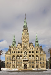 Liberec Town Hall. Czech Republic