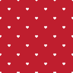 vector seamless background with litlle hearts