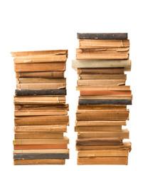 libri vintage impilati