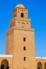 Kairouan mosque in Tunisia
