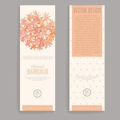 Vector Vertical Banners
