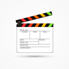 Director clapperboard icon