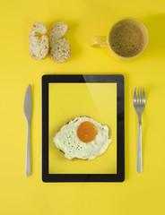 tablet breakfast
