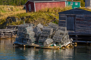 Newfoundland Lobster Traps
