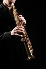 Saxophone soprano musical instruments
