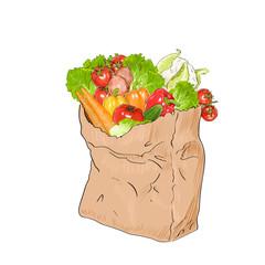natural fresh raw vegetables organic food market