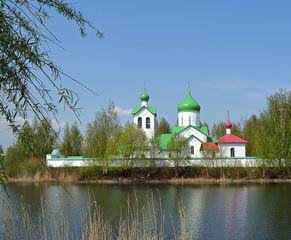 Церковь святого Сергия Радонежского в Санкт-Петербурге.