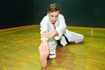 karate teenager