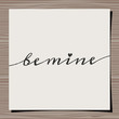 Typographic Design Greeting Card Template