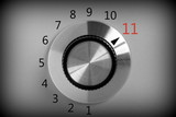 Volume control switch that goes all the way up to Eleven