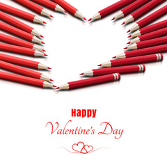 Kartka walentynkowa 'Happy Valentine's Day'
