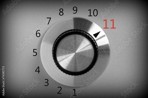 Volume control switch that goes all the way up to Eleven - 76385755