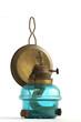 kerosene lamp blue