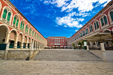 Prokurative square in city of Split