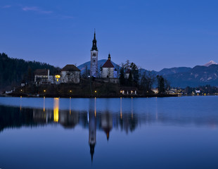 Bled lake. Slovenia.