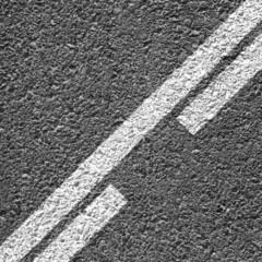 Asphalt Dividing Line