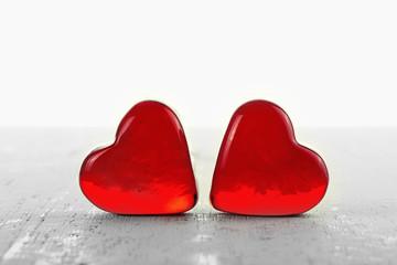 Zwei Herzen ©yvonneweis