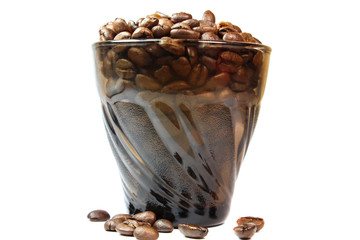 whole grains fragrant black coffee