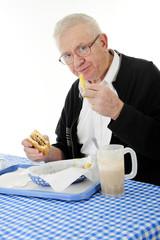 Seniors Enjoy Fast Food Too