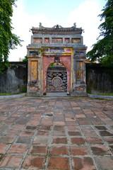 Gate in forbidden city, Hue